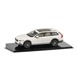 V90 CRYSTAL WHITE CROSS COUNTRY  1:43 Thumbnail