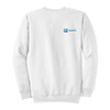White Crew Neck Sweatshirt - DS Thumbnail