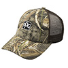 Solid Color Mesh Back Camo Cap Thumbnail