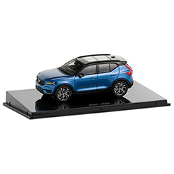 XC40 BURSTING BLUE 1:43 Thumbnail