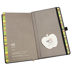 ECO-FRIENDLY APPLE NOTEBOOK