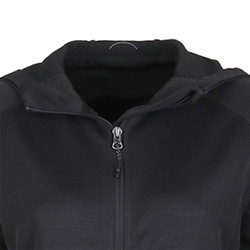 LADIES KNIT ZIP HOODY