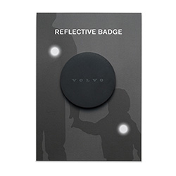REFLECTIVE BADGE, BLACK