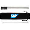 SAP Reusable Stainless Steel Straw Set with Brush Thumbnail