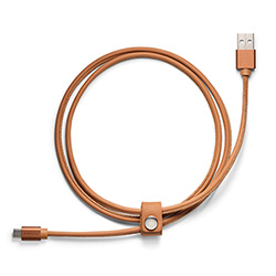 REIMAGINED CHARGER CABLE ANDROID, BROWN Thumbnail