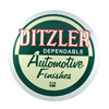 Ditzler Round Metal Sign Thumbnail