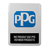 PPG Proudly Refinish Sign Thumbnail