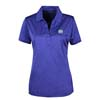 Ladies Cobalt Heather Polo
