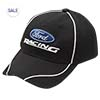 Black Ford Racing Hat Thumbnail
