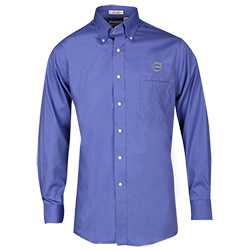 LONG SLEEVE OXFORD - BLUE Thumbnail