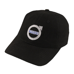 BLACK BRUSHED TWILL CAP Thumbnail