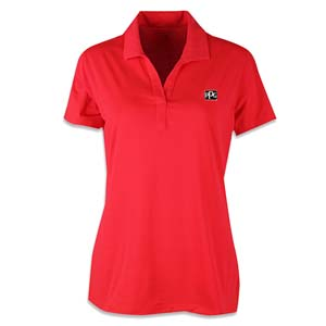 Coral Ladies Perf Polo Image