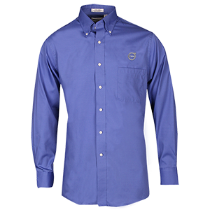 LONG SLEEVE OXFORD - BLUE