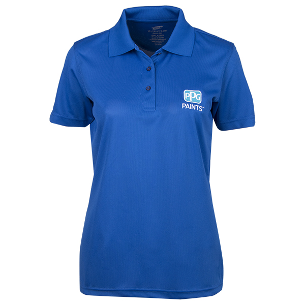 PPG Paints Ladies Dry Mesh Polo Image