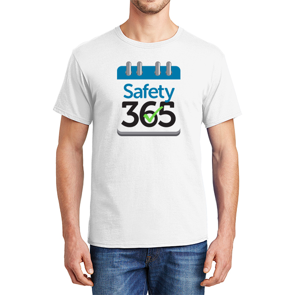 Safety 365 100% Cotton T-Shirt - DS Image
