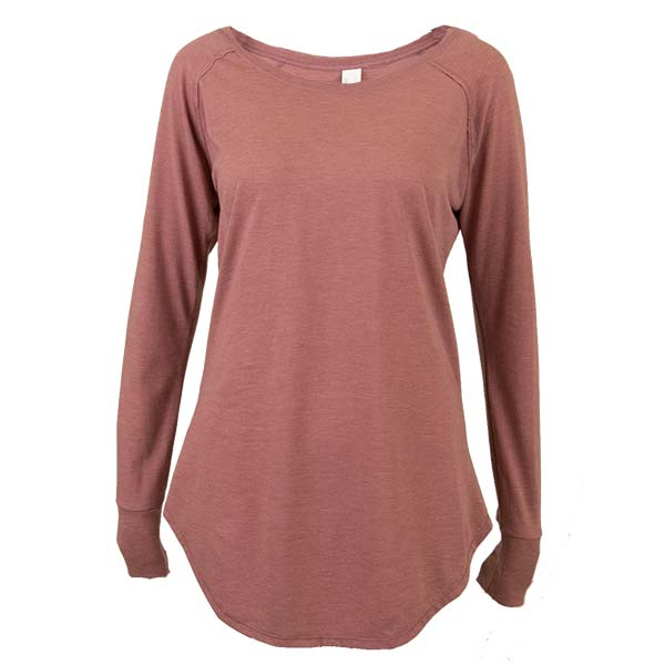 Ladies Perfect Tri Long Sleeve Tunic Tee Image