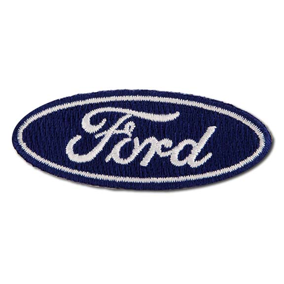 "2.5"" in Ford Oval Patch"
