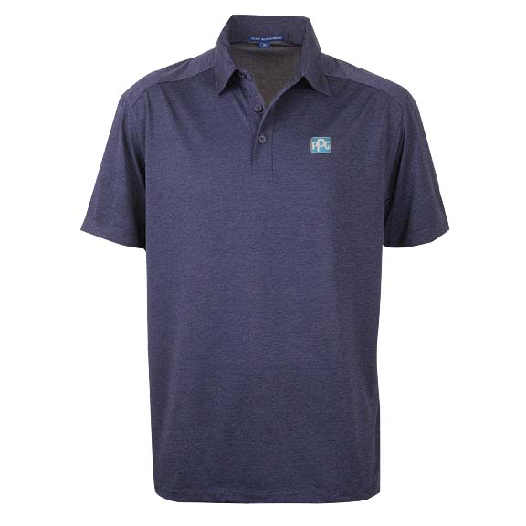 Navy Performance Polo Image
