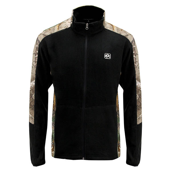 Camo Micro Fleece Zip Jacket Image